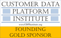 Customer Data Platform Institute Founding Gold Sponsor