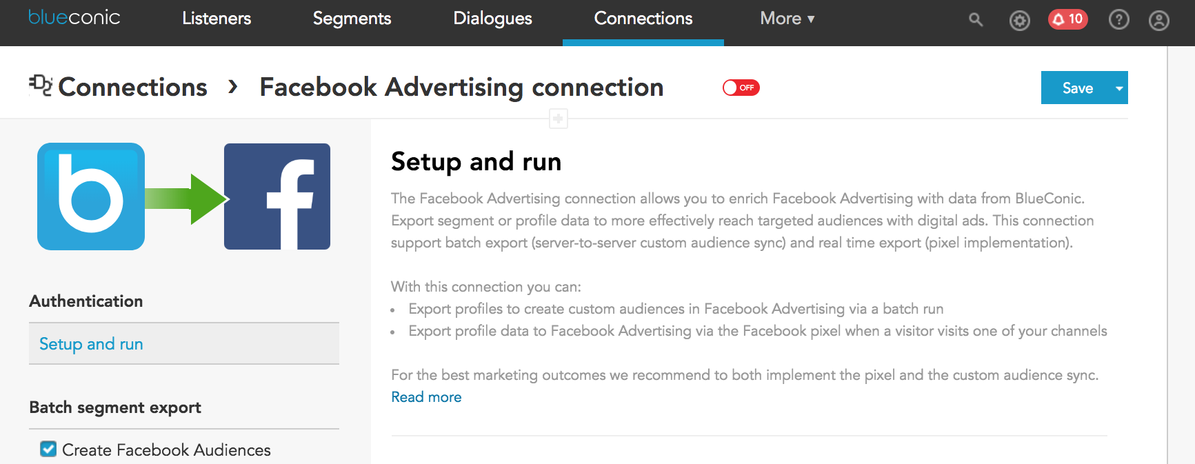facebook advertising connection_product