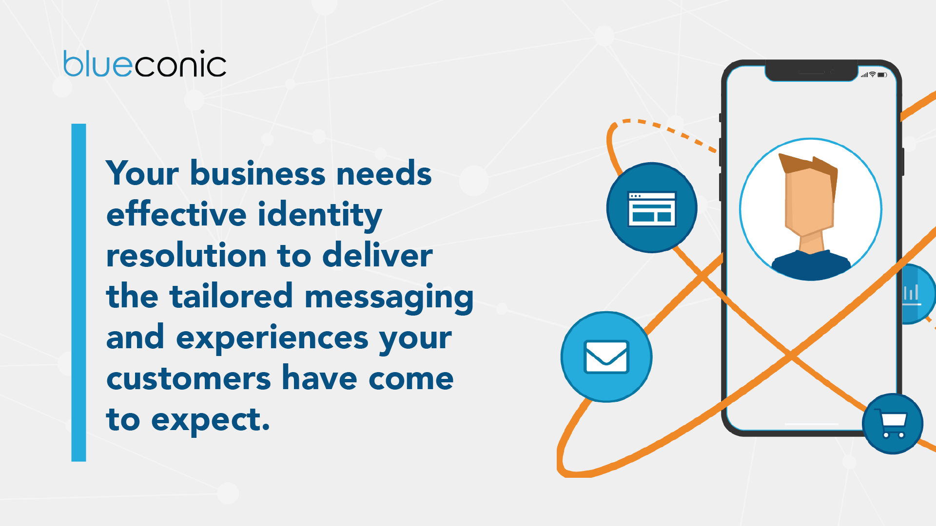 Your business needs effective identity resolution to deliver the tailored messaging and experiences your customers have come to expect.