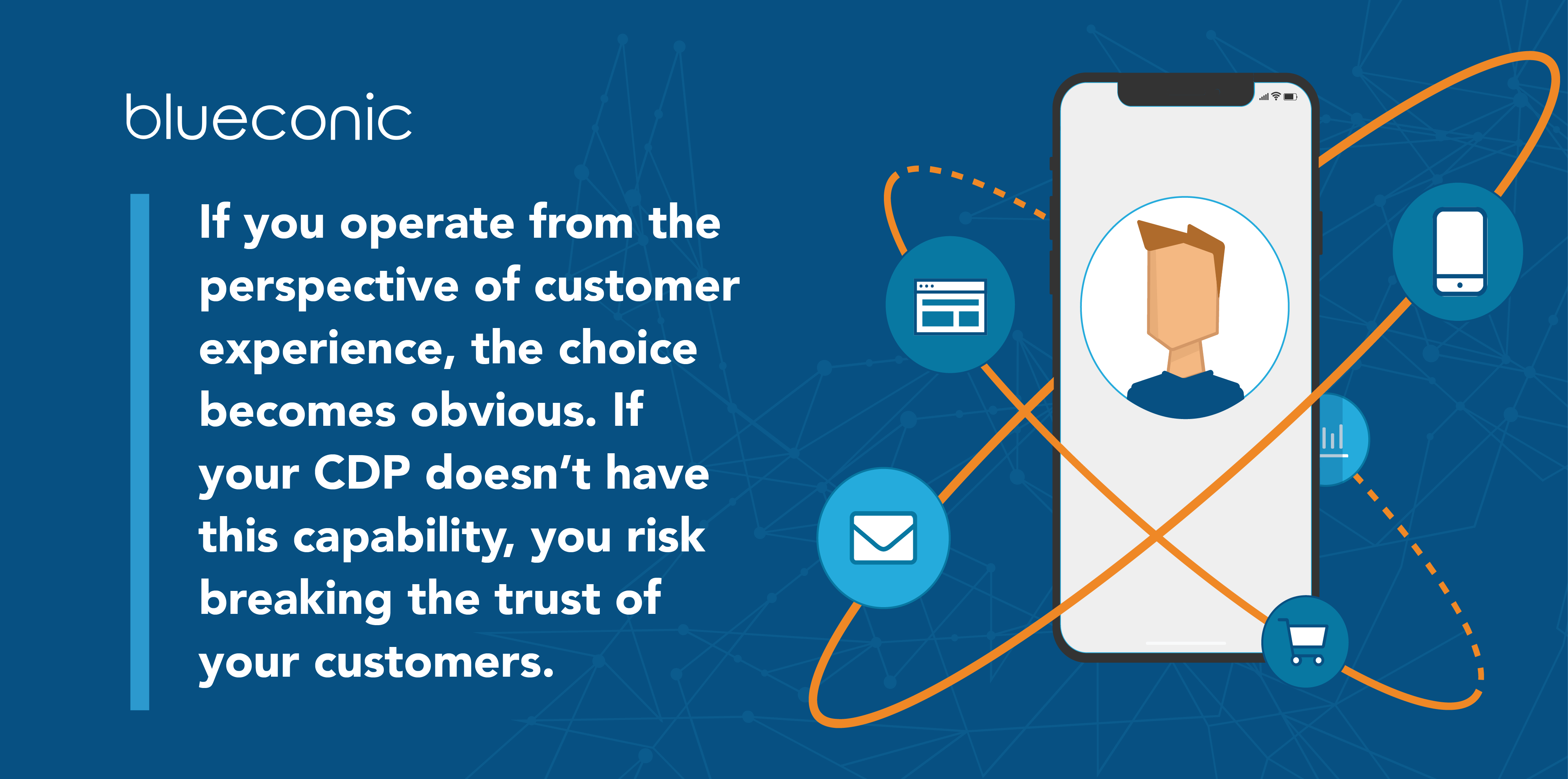 If you operate from the perspective of customer experience, the choice becomes obvious. If your CDP doesn't have this capability, you risk breaking the trust of your customers.